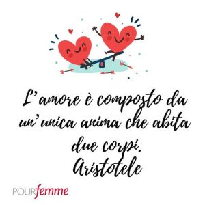 citazione amore Aristotele