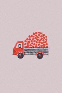 Camioncino di cuori