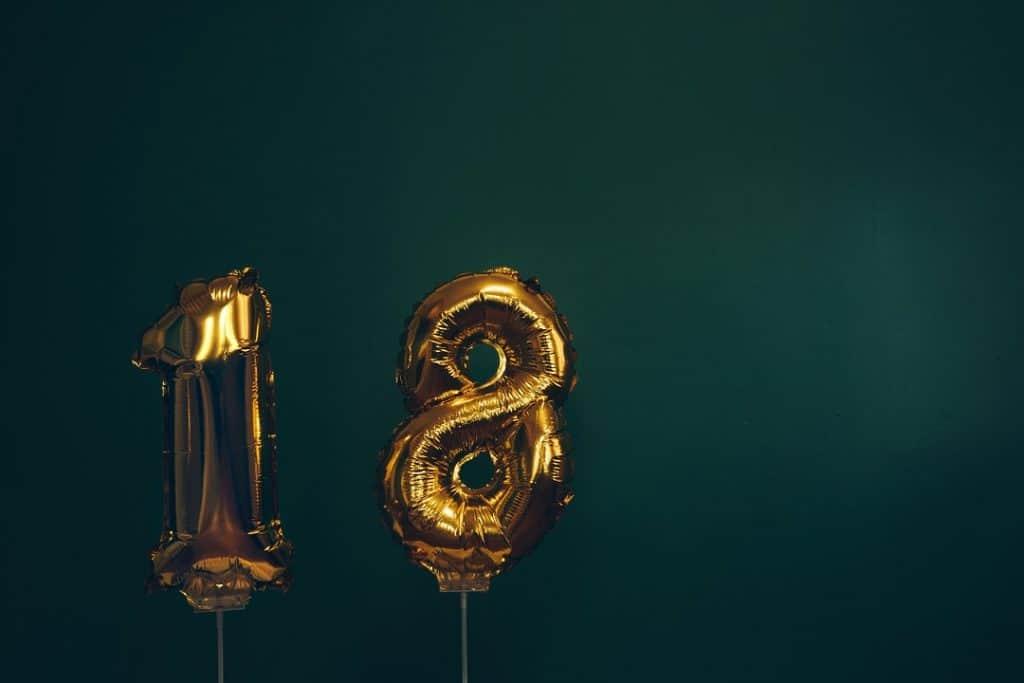 regali 18 anni